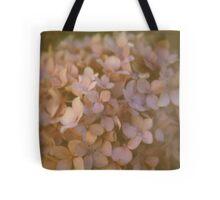 Pink Hydrangea Polaroid Tote Bag