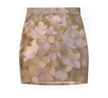 Pink Hydrangea Polaroid Mini Skirt