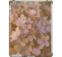 Pink Hydrangea Polaroid iPad Case/Skin