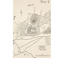 Plan of the defence of Seetabuldee Hill Photographic Print
