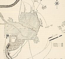 Plan of the attack on Sholapore by Bridgeman Art Library