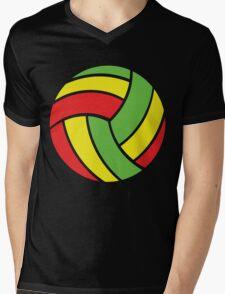 Volleyball Vibe Mens V-Neck T-Shirt