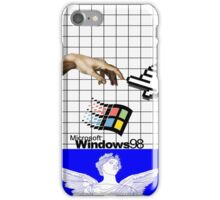 WINDOWS 98 VAPORWAVE CASE iPhone Case/Skin