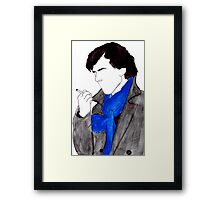 Smokin' SH. Framed Print