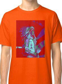 Indian Chief Pop Art Classic T-Shirt