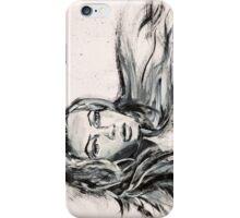 Hair in the Wind iPhone Case/Skin