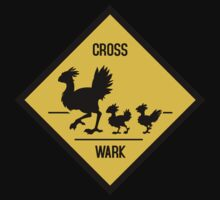 Crosswark - Chocobo Crossing - Dark Shirts Kids Clothes