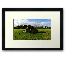 The Giants Ring, Northern Ireland Framed Print