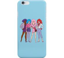 Jem and The Holograms - Group #1 Blue - Tablet & Phone Cases iPhone Case/Skin