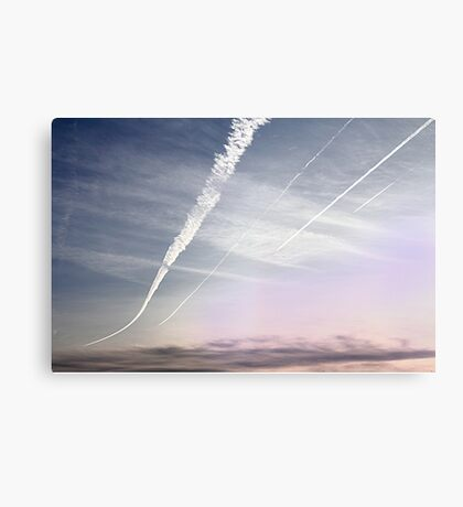 All going west. Canvas Print