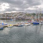 Brixham in Devon by Chris Day