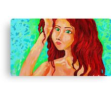 Irish Maiden Canvas Print
