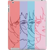 Jem and The Holograms - Group Striped - Color iPad Case/Skin