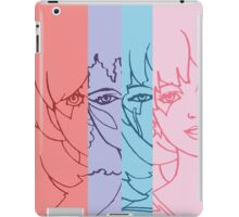 Jem and The Holograms - Group Striped - Tablet & Phone Cases iPad Case/Skin