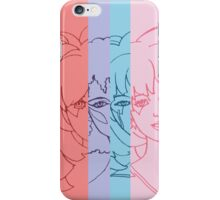 Jem and The Holograms - Group Striped - Tablet & Phone Cases iPhone Case/Skin