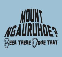 Mount Ngauruhoe Mountain Climber by Location Tees