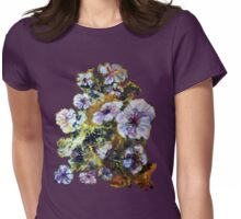 Cosmic Flowers * Womens Fitted T-Shirt