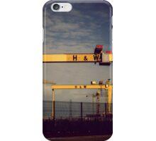 Harland & Wolff Belfast, Northern Ireland iPhone Case/Skin