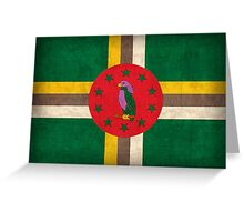 Dominica Flag Greeting Card