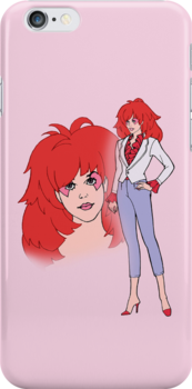 Jem and The Holograms - Kimber #1 Pink - Tablet & Phone Cases by DGArt