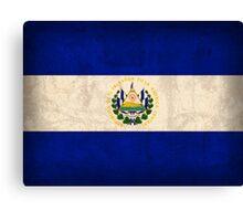 El Salvador Flag Canvas Print