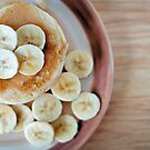 banana pancakes.. by Michelle McMahon