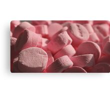 If These Are Wintergreen Mints, Why Are They Pink? Canvas Print