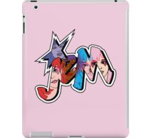 Jem and The Holograms - Logo #1 - Pink - Tablet & Phone Cases iPad Case/Skin