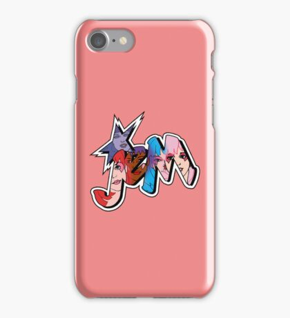 Jem and The Holograms - Logo #1 - Red - Tablet & Phone Cases iPhone Case/Skin