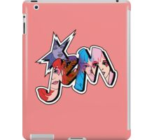 Jem and The Holograms - Logo #1 - Red - Tablet & Phone Cases iPad Case/Skin
