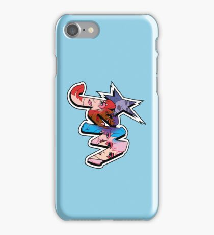 Jem and The Holograms - Logo #2 - Blue - Phone Cases iPhone Case/Skin