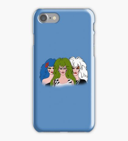 Jem and The Holograms -  The Misfits - Blue - Tablet & Phone Cases iPhone Case/Skin