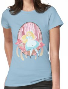 Alice's Wonders Womens Fitted T-Shirt