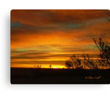 Monday Blessings Canvas Print