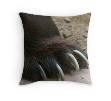 Bear Claw Throw Pillow