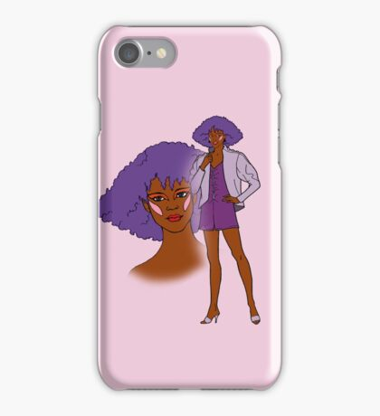 Jem and The Holograms - Shana #1 Pink - Tablet & Phone Cases iPhone Case/Skin