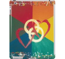 His and His Wedding Invitation iPad Case/Skin