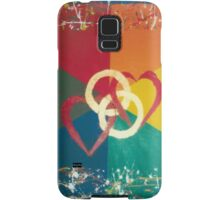 His and His Wedding Invitation Samsung Galaxy Case/Skin