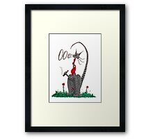 Cool Dude Framed Print