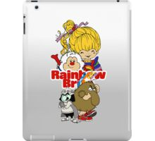 Rainbow Brite - Group Logo #1 - Color  iPad Case/Skin