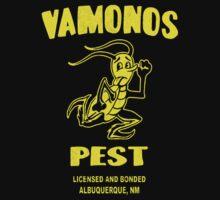 Distressed Vamonos Pest by sneddy