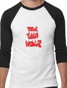 pre teen wolf  Men's Baseball ¾ T-Shirt