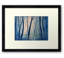 Nel bosco Framed Print