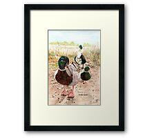 Woody, Little John, and Ollie Framed Print