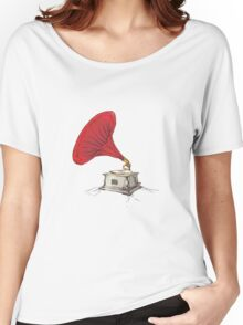 Phonograph Women's Relaxed Fit T-Shirt