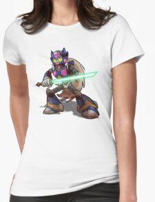 Zombie Zero (Megaman) Womens Fitted T-Shirt