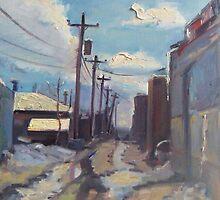 Behind the City of Craig by brandycattoor