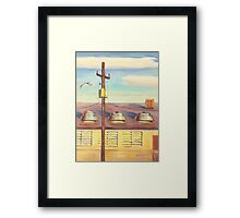 Above the Office Framed Print