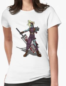 Zombie Cloud (Final Fantasy VII) Womens Fitted T-Shirt