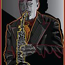 CHARLIE PARKER LEGENDARY JAZZ SAXOPHONIST by Larry Butterworth